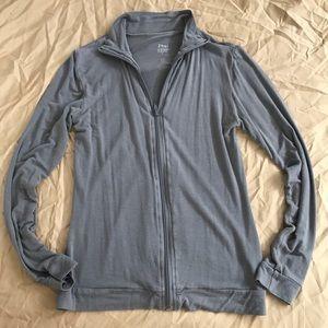 BOGO! Zhai bamboo zip up jacket gray small GUC
